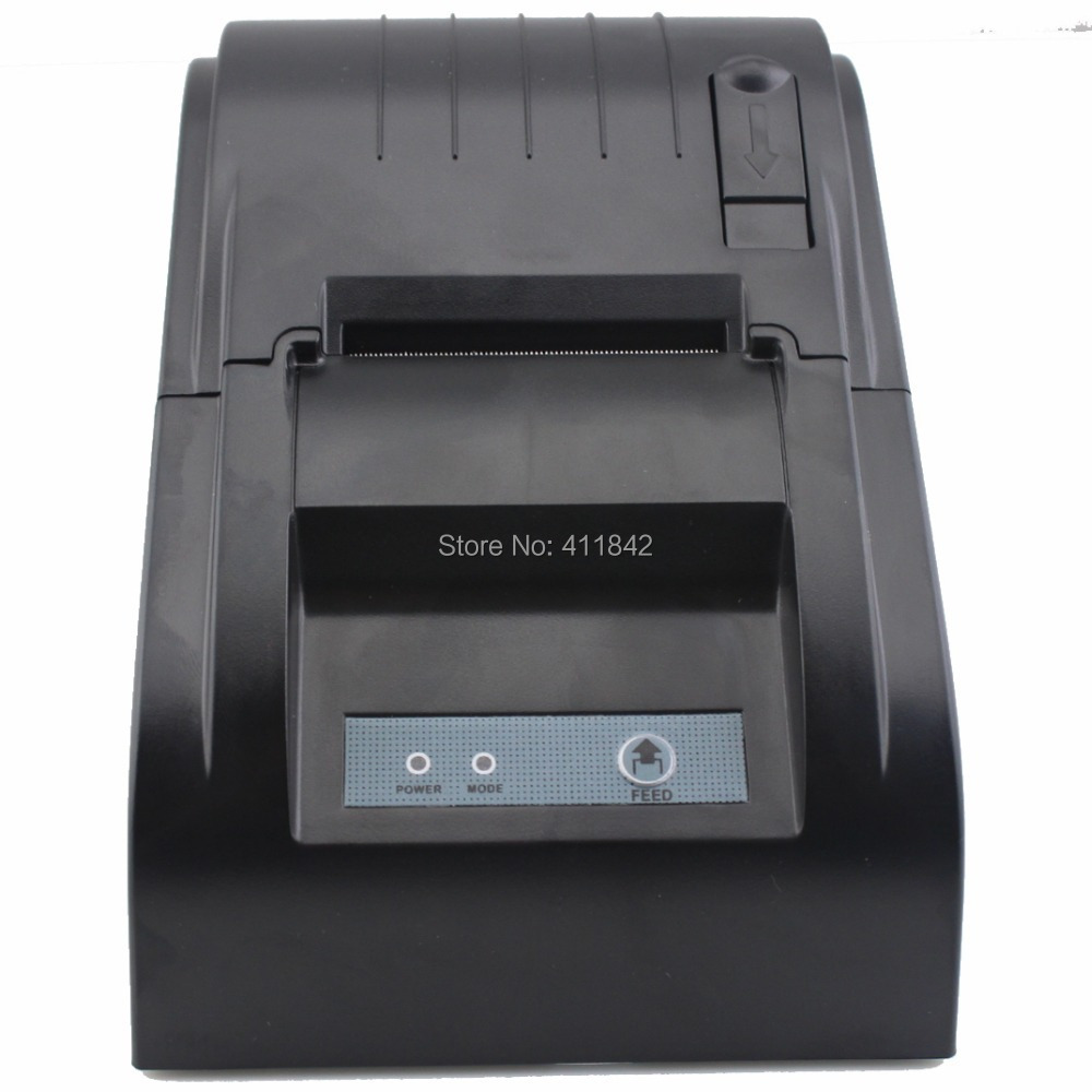 Free Shipping! Supermarket  thermal printer 58mm thermal receipt printer 58mm kitchen printer ticket printer (NT-5890T)