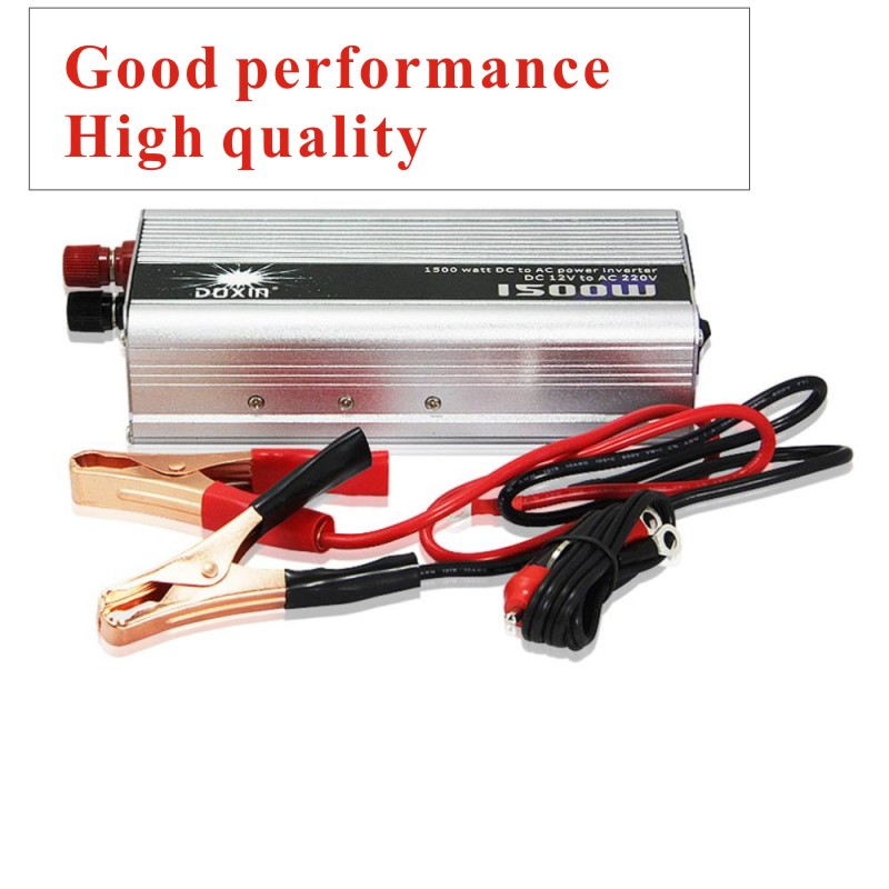 1.5KW 1500W 1500 Watt Modified Sine Wave Power Inverter Home Car DC 12V to AC 220-240V Converter(China (Mainland))