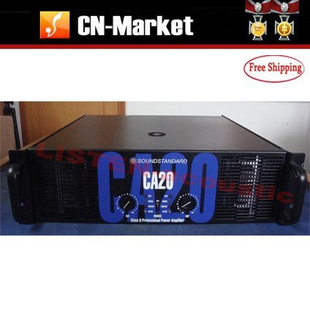 Soundstandard CA20 Power Amplifier Free Shipping On