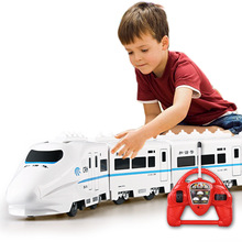 Buy Electric Remote Control Rail 757P-006 large scale 82cm 4W RC Car Model electricTrain Kids Gift Railway Track Train Toy for $55.25 in AliExpress store