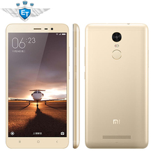 Original Xiaomi Redmi Note 3 Pro Prime 4G LTE Cell Phone Snapdragon 650 Hexa Core Fingerprint Metal Body 5.5'' 3GB RAM 16MP(China (Mainland))