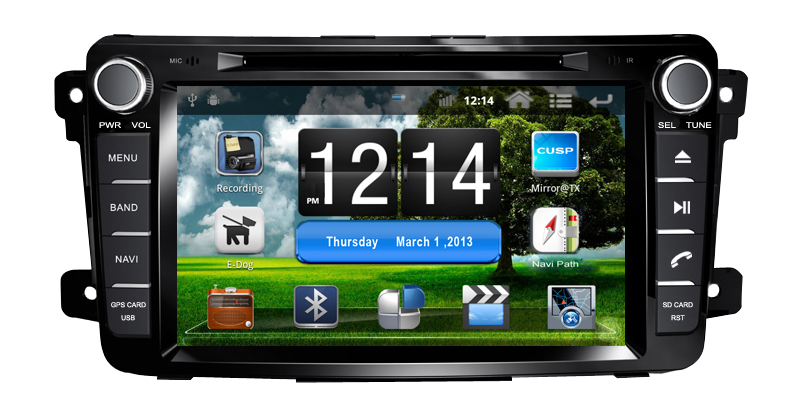 7-inch MAZDA CX-9 2007-2012 Android 2.3.4 Car DVD GPS 2 din Radio WIFI 3G USB/SD IPOD TV WiFi M009  -  Shenzhen TomTop E-commerce Technology Co., Ltd. store