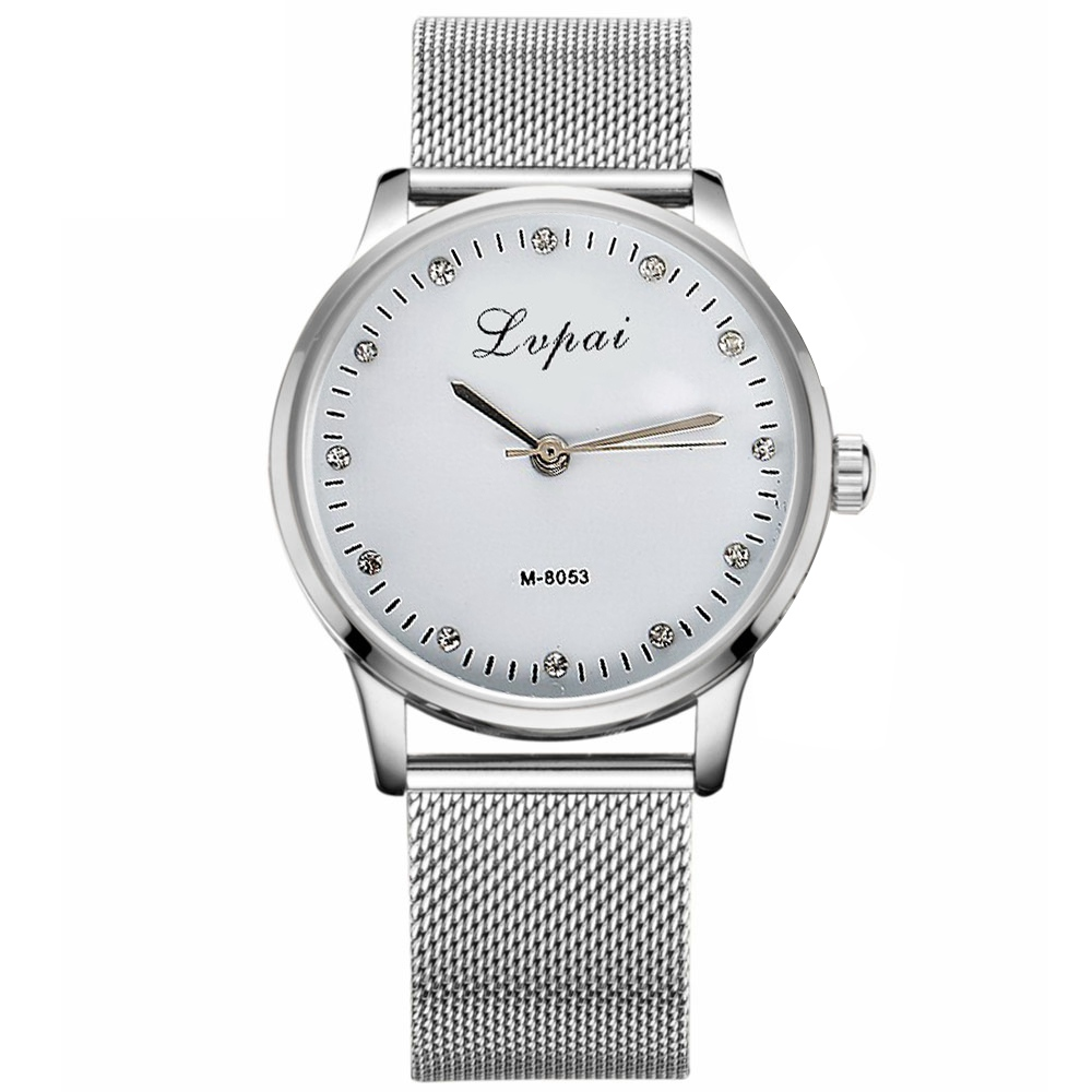 lvpai watches 2016 clock silver