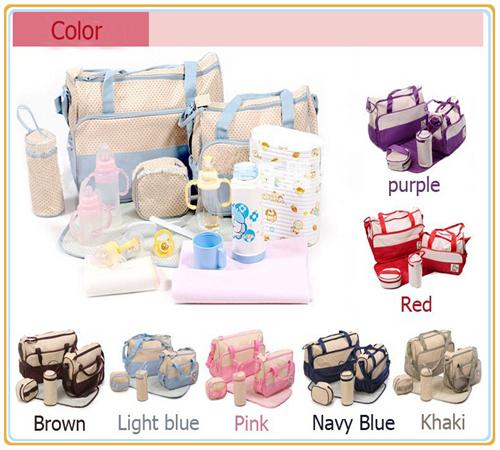 7 цветов 4 шт./компл. многофункциональный мешок пеленки беременным для мамы подгузник ...