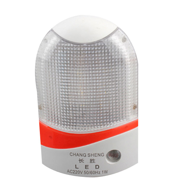 Гаджет  White Light Control AC Powered Wall Plug-in LED Night Light Automatic Sensor None Свет и освещение