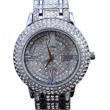 watch women Latest Design women watches Watch Full Czech Crystals Japan Miyota 2035 Movement Water Resistance