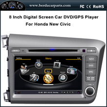 8″ Touch Screen Car Radio For Honda New Civic 2012 With GPS Navigation BT iPod Free Map (TV option)