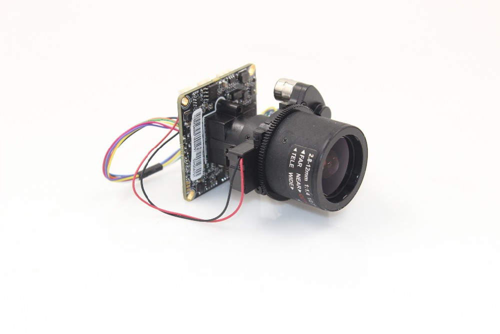 Auto Zoom lens 2 8 12mm 2 0MP FULL IP Array camera wide dynamic CMOS HD