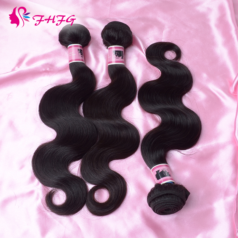 Brazilian Human Hair Black Free Shipping Virgin Hair Style Body Wave New Arrive Cheap Brazilian Virgin Hair Extension Water Wave(China (Mainland))