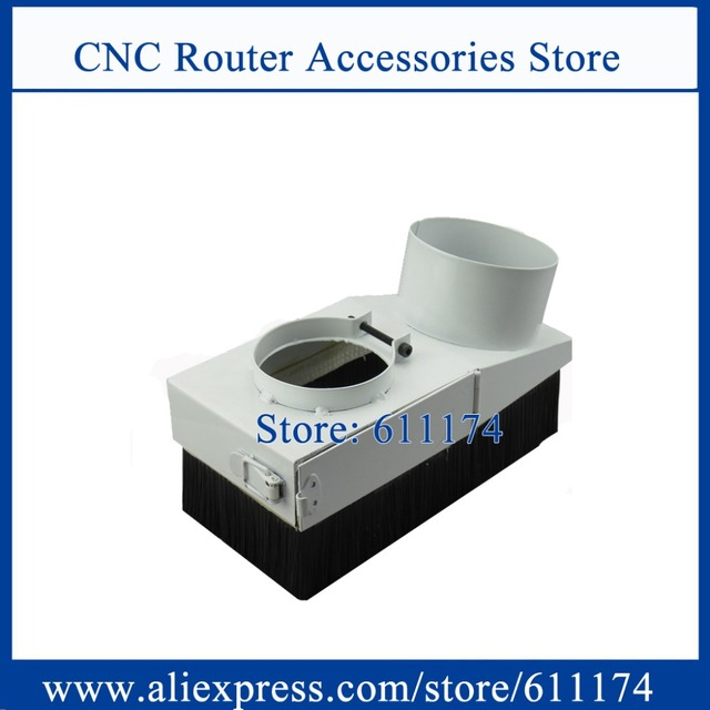Dust brush 65mm Dust collect Cover Dust removal equipment dust collection device match for 65mm spindle motor