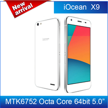 In stock!Original iOcean X9 5.0 inch FHD 64-Bit 4G LTE 3GB 16GB Android 5.0 MTK6752 Octa Core 1.7 GHz 13.0MP OTG Smartphone/Avil(China (Mainland))