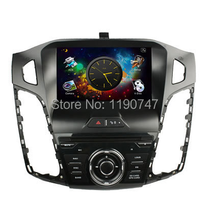 DHL Ship android 4.2 1 din Android CAR DVD for ford Focus C Max 2011 Car Computer with CAN BUS+GPS+IPOD+BT+Radio+AUX IN(China (Mainland))