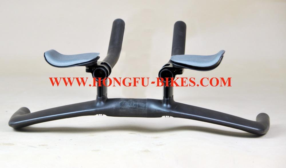 carbon rest bar aero type handlebar , 2014 aero Full carbon tt bike handle bar HB019 for TT bicycle frame(China (Mainland))