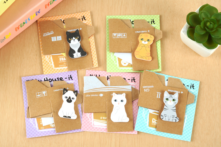 Dog And Cat Sticky Note Pads