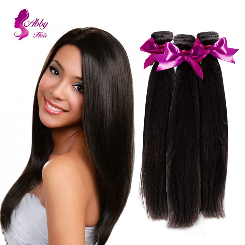 Sunlight Hair Company Extension Peruvian Virgin Hair Straight Meches Bresilienne Lots Queen Hair(China (Mainland))