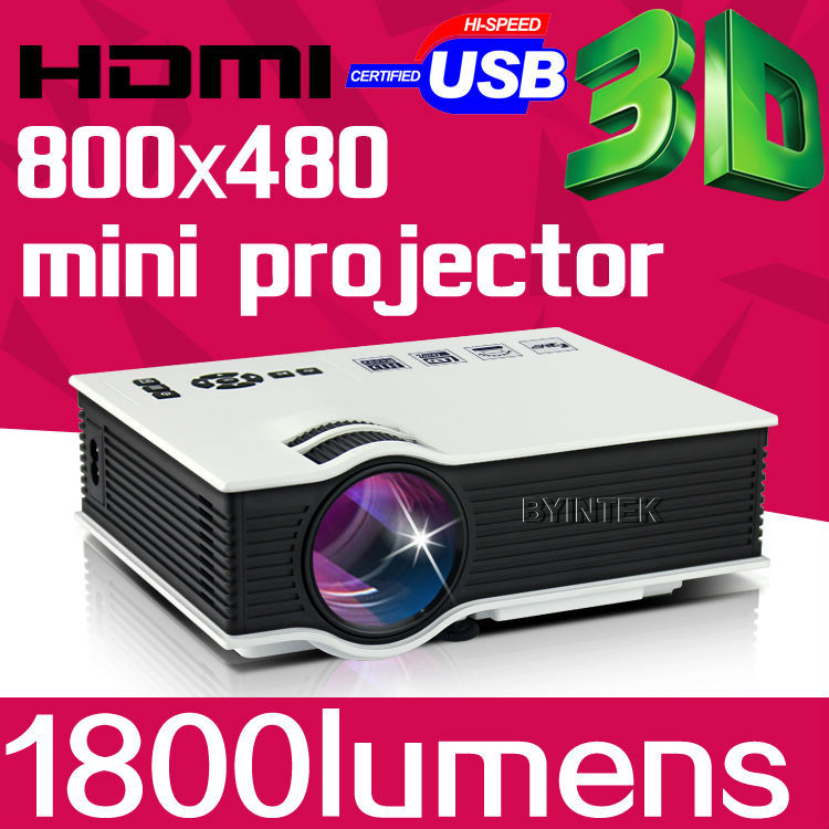 2015 New USB AV HDMI 1800lumens Home Theater LED Digital Video Game 3D Pico Mini Projector Proyector Projetor Beamer 1080P(China (Mainland))