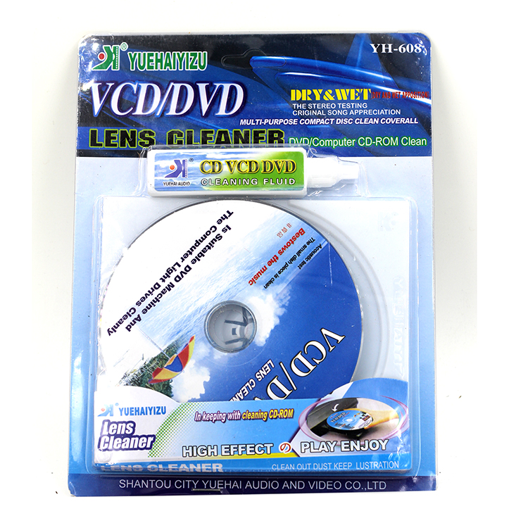 Hot Sale CD DVD Drive Cleaning Disc CD Player Installed Cleaner Sets Consumer Electronics Wholesale price(China (Mainland))