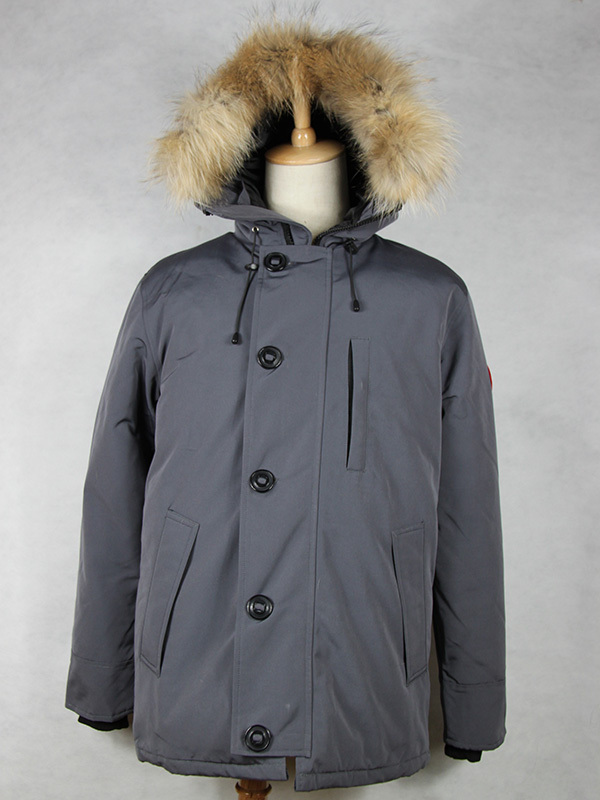 2016 Brand New Mens Goose Down Jacket Warm Winter CHATEAU PARKA Big Removable Raccoon fur