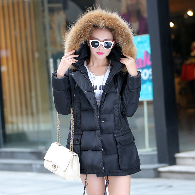 new arrivals fashional plus size m-xxl women long style warm winter coat women coat winter warm winter coats jackets women black