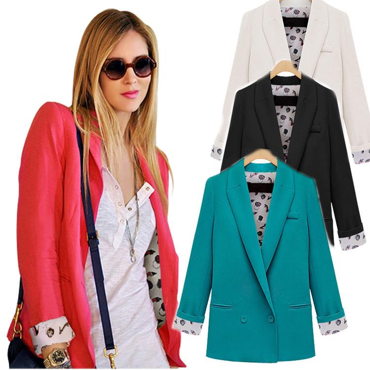 Женский пиджак Brand blazer Blaser Feminino Jaqueta Esporte blazer women