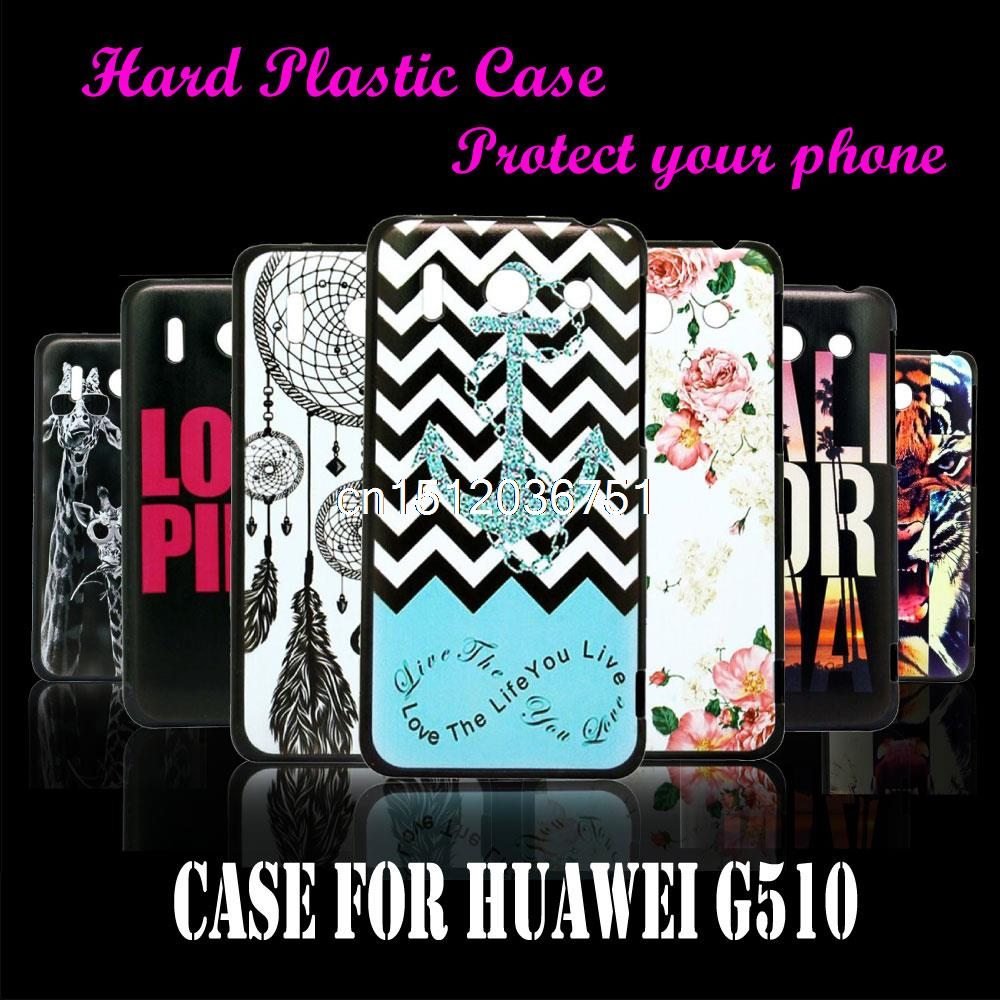 Case Cover For Huawei Ascend G510 Love The Life You Live Unique Cool Anchor Hard Plastic
