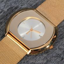 2014 nueva moda acero lleno del reloj de la marca. lujo relojes de para con plena logotipo de la marca. relojes mujer vestido. envío gratis