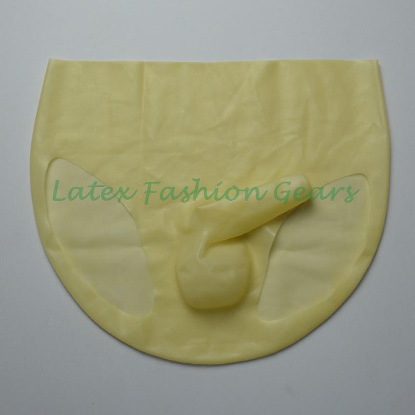 Mens underwear condom spandex