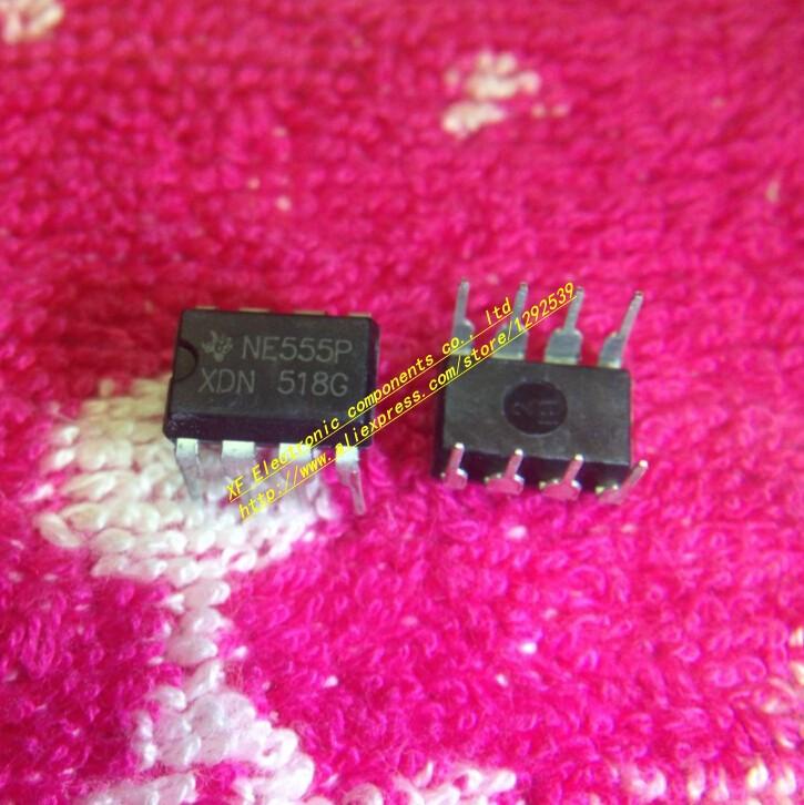 50pcs. free shipping , NE555P 555P NE555 Timer Integrated Circuit DIP-8 555 timer IC Chip(China (Mainland))