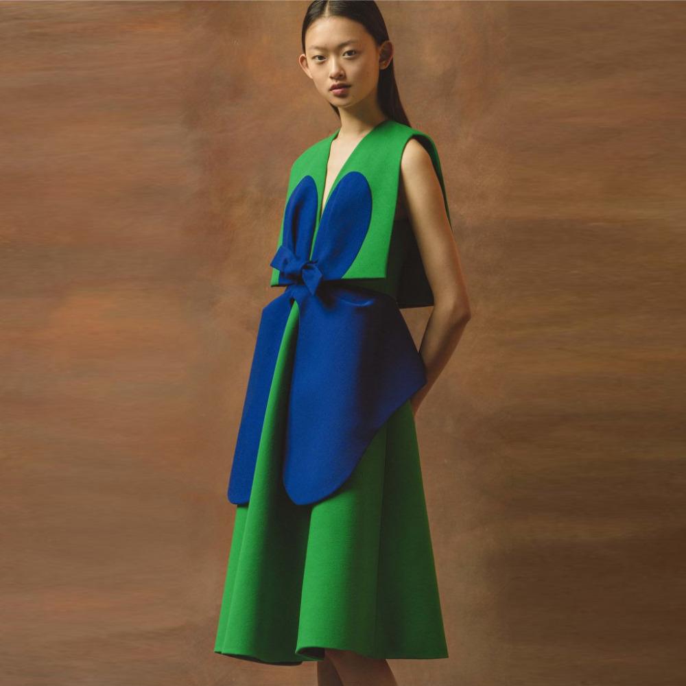 Green Satin Cocktail Dress Promotion-Shop for Promotional Green ...