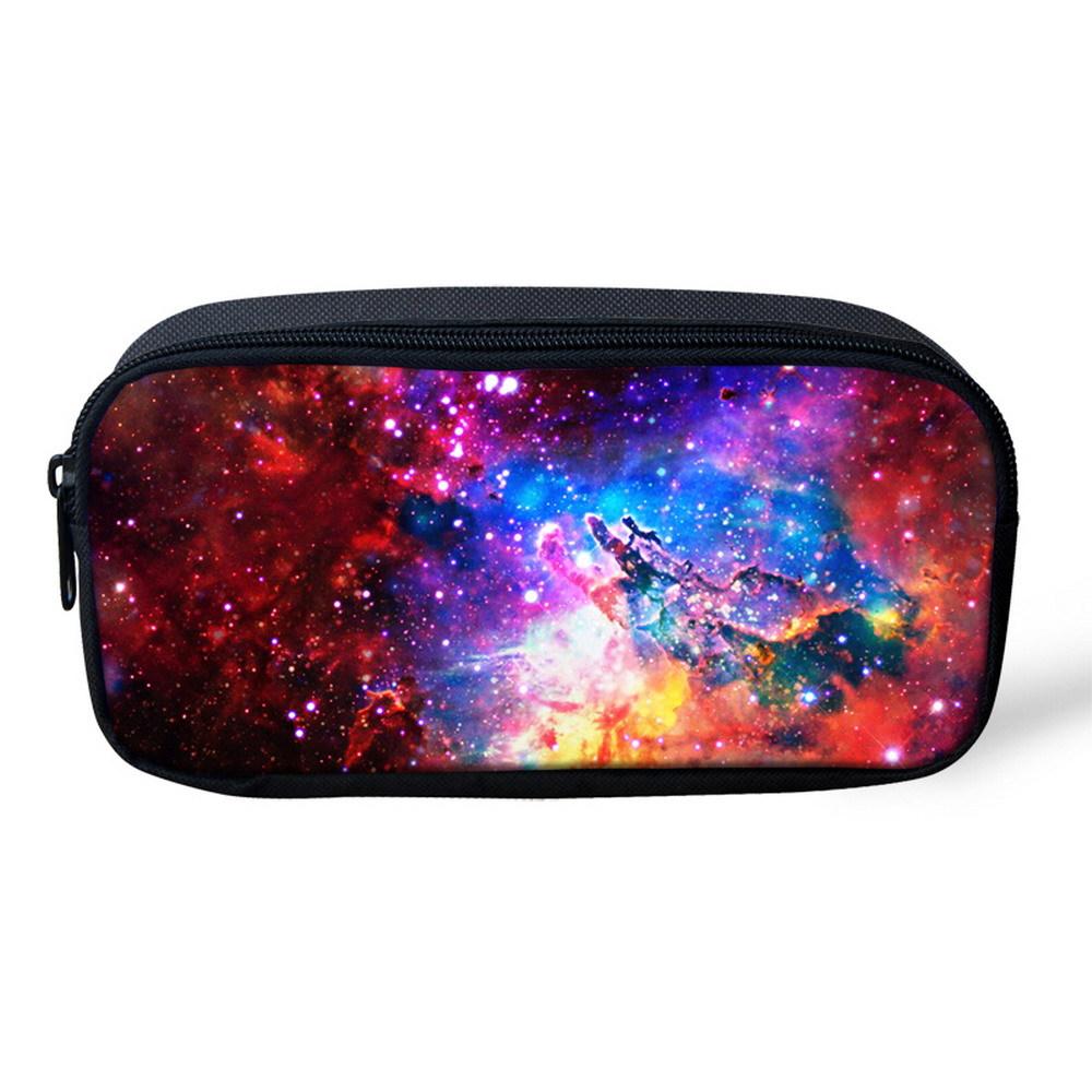 Galaxy Print Glasses Case