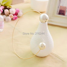 2015 fashion big catwalk models exaggerated pearl necklace jewelry decorative collar short clavicle brand collar necklace