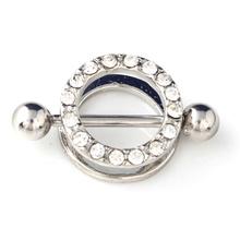 Buy 12PCS Stainless Steel Nipple Shield Rings 14g Round Nipple Piercing Jewelry Sexy Nipple Ring Piercing Women Men Body Jewelry for $9.51 in AliExpress store