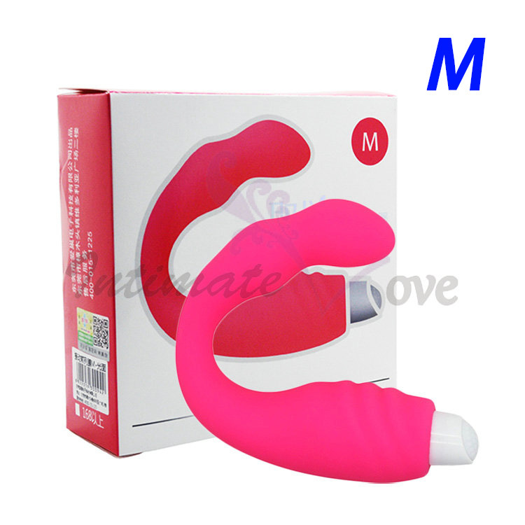 Mens Beginner's Anal Prostate Massager G-Spot Silicone Vibrators M, Male Sex Toys Adult Anal Toys Sex Products(China (Mainland))