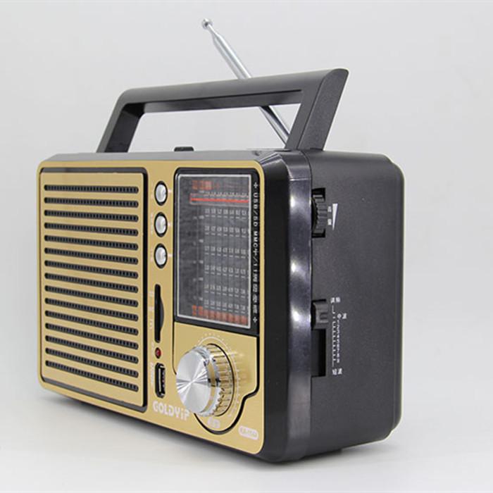 Antique vintage retro full band FM radio older desktop support USB elderly consumer electronics gift free