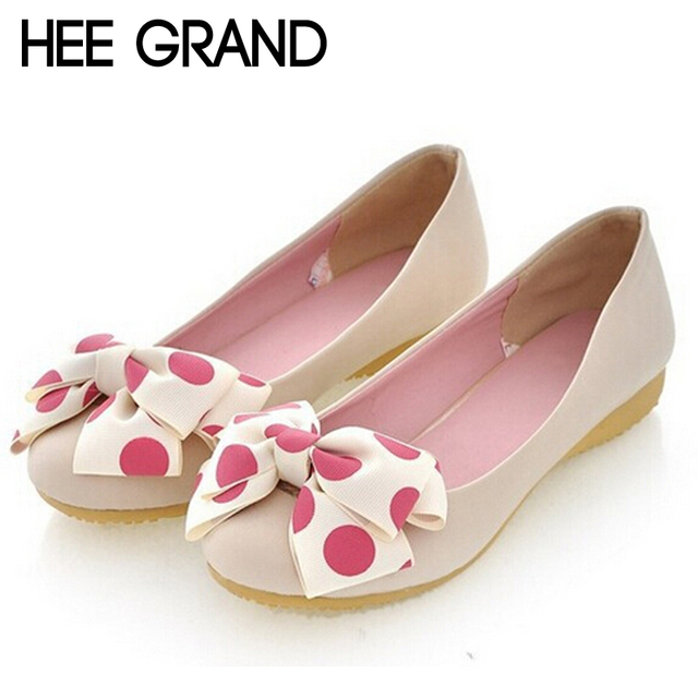 Новый женщины балетки на осень и весна сладкий стиль женской обуви с бабочкой 2 видов ...