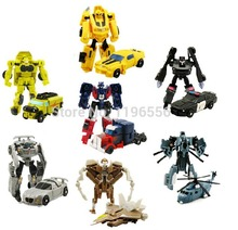Hot sale Transformation 4 Optimus Prime Bumblebee Toy Figure Robot Transformation Toys Kids Toys Factory Outlets With Gift(China (Mainland))