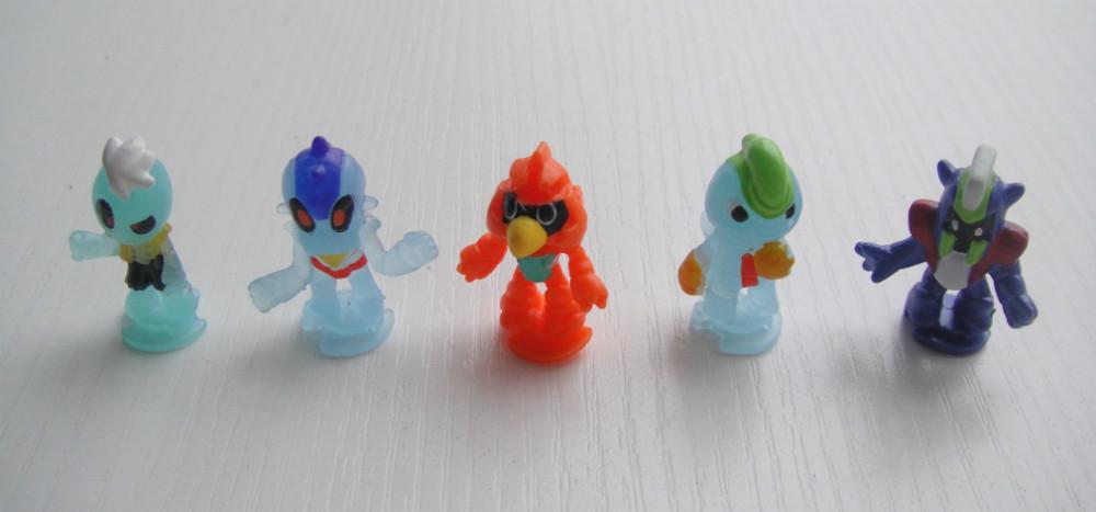 Toys & Hobbies 60pieces A Lot 2.3cm Snowman Baby Mini Pvc Action Figure Mini Toys Model For Children Gift
