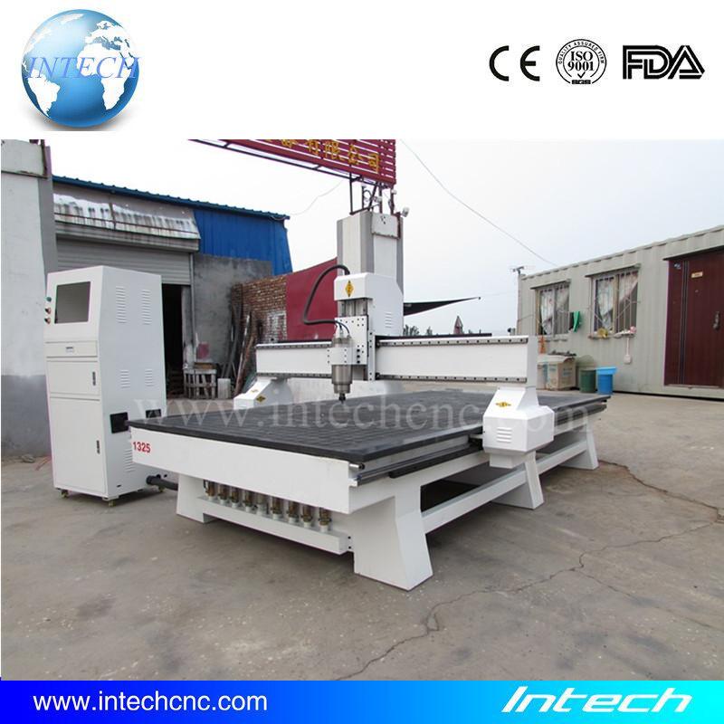 Heavy duty cnc router machine 1300x2500 vacuum table Intech mini cnc machine price(China (Mainland))