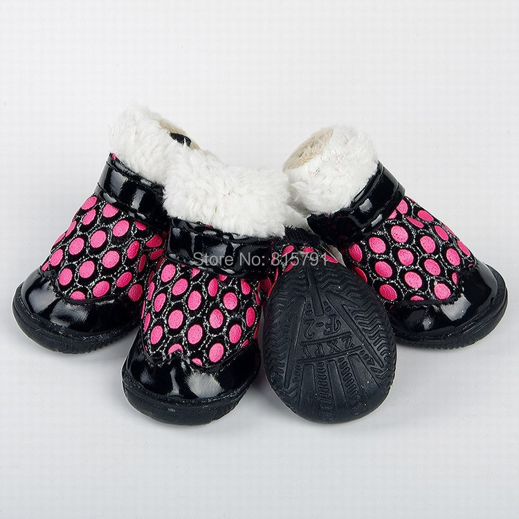 2015 Free Shipping Winter Dog Boot For puppy dog bulldog teddy New dog shoes wholesale from China pet supplies cheap and quality(China (Mainland))