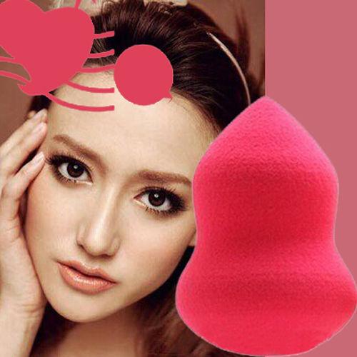 1 X Randomly New Gourd Shape Makeup Cosmetic Foundation Sponge Blending Puff Flawless Powder Smooth Tools - ^_^ Enjoy store