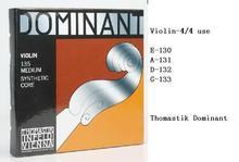 Thomastik Dominant Violin String 135 Medium  4/4 Free shipping(China (Mainland))