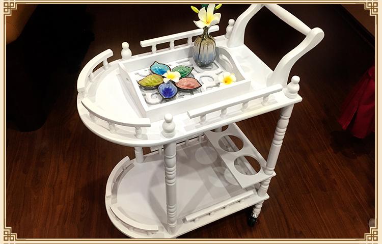 High-end beauty. Beauty wooden cart. Beauty cart. Solid wood tool<br><br>Aliexpress