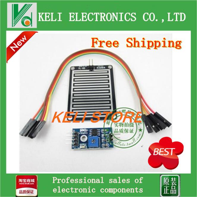 Free Shipping 1PC Rain Weather Module Raindrops Detection Sensor Moduel Humidity For Arduino condensation sensor frost sensor(China (Mainland))