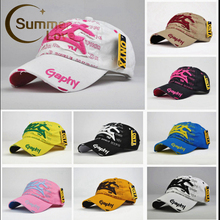 Free Shipping New Arrival 2015 Fashion Hot Sale Cotton Baseball Cap Viscose For Women Girls H1(China (Mainland))