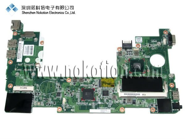 627756-001 633486-001 main board For HP MINI 110 laptop motherboard (N455) DDR3 GOOD Quality 100%test before shipment(China (Mainland))