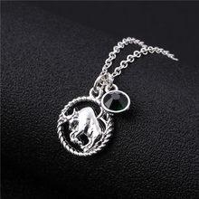 Ожерелье Skyrim, 12 созвездий, Очаровательное ожерелье для женщин/девочек, 12 знаков зодиака, ювелирные изделия, чокеры, ожерелье, подарок, астрол...(China)