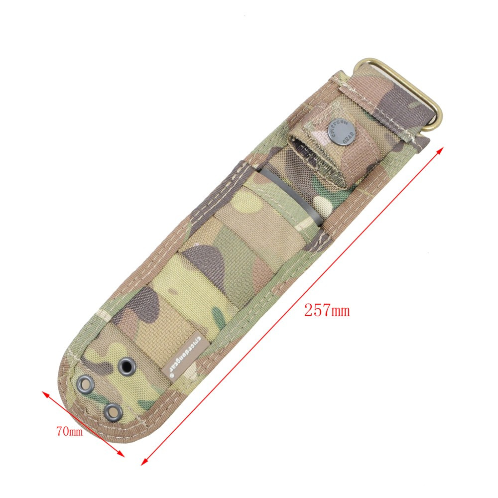 Buy Emerson Knife Case EM8332 1000D Nylon Knife Pouch Bag Airsoft Military Army Utility Pouch Hunting Accessories BK CB MC cheap