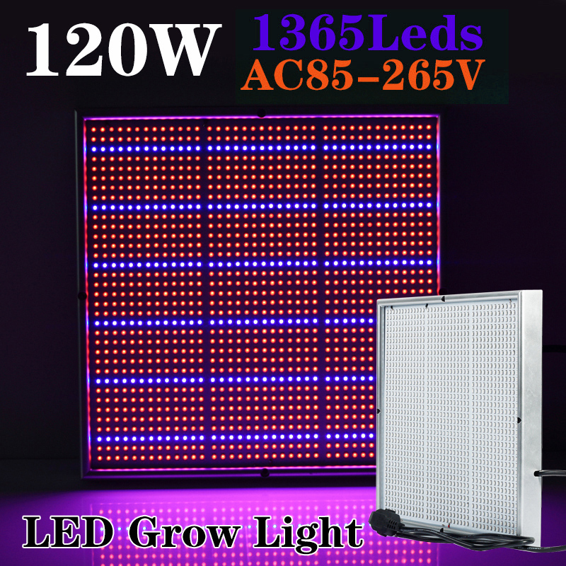 Cheapest 120W 85-265V High Power Led Grow Light Lamp For Plants Vegs Aquarium Garden Horticulture And Hydroponics Grow/Bloom(China (Mainland))