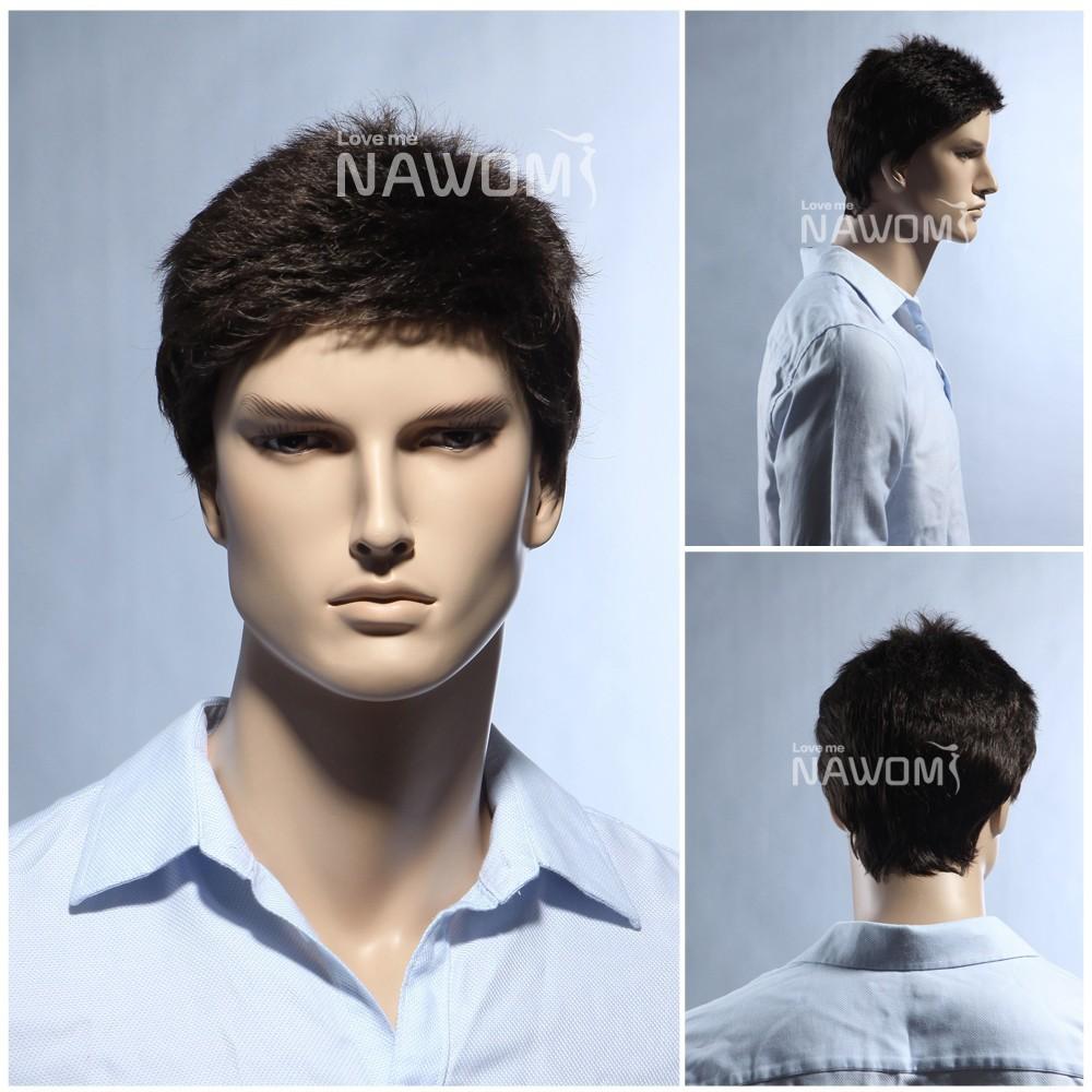 Mens Wigs Online Men Wigs Real Hair Men