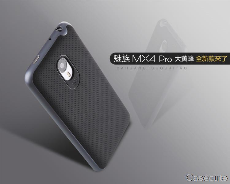 for Meizu MX4 Pro Case 5.5 Ultra Slim Slippery Anti Dirt TPU+PC High Quality Protective Simply Back Cover for Meizu MX4 Pro(China (Mainland))